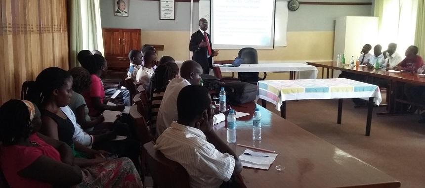 Climate Change Seminar Series at Makerere University