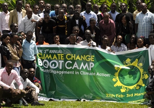 Climate Change Adaptation and Mitigation Students Boot Camp